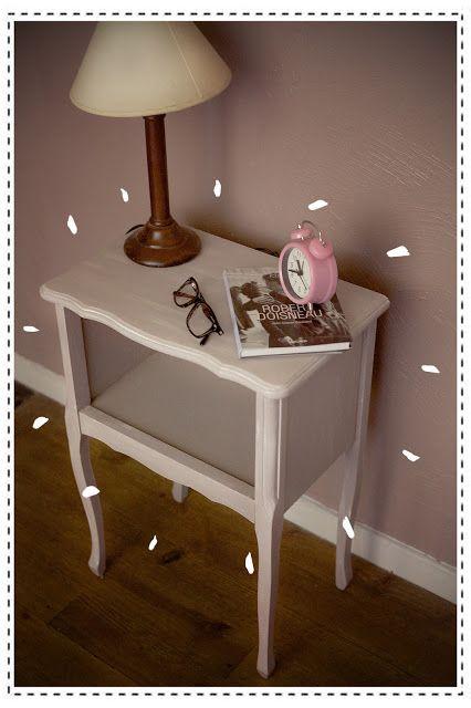 Diy R Nover Une Table De Chevet Petit Prix Astuces Gain De Place Pinterest Bricolage