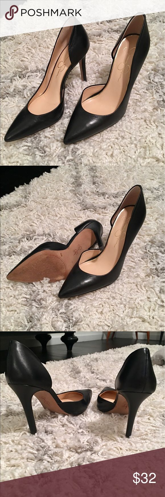 Jessica Simpson Claudette Pumps. Worn 2x These are so pretty and comfy. Near perfect condition! Jessica Simpson Shoes Heels