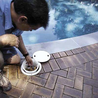 Weekly pool maintenance list