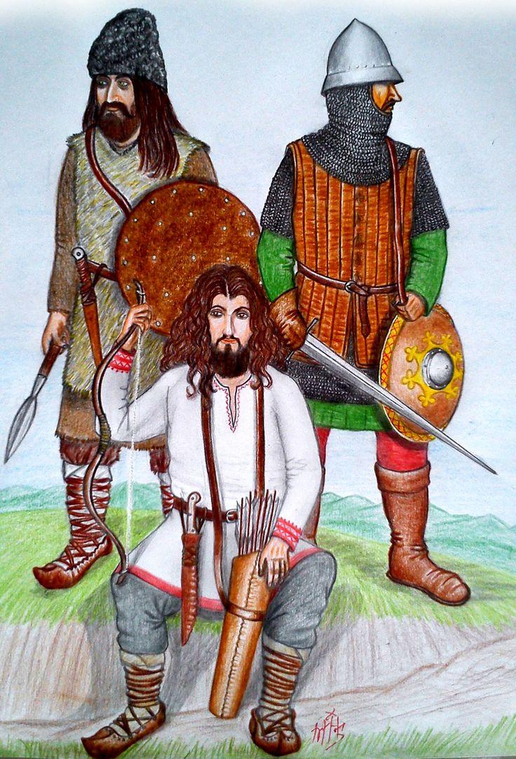XIVth century Wallachian Soldiers. By Mihai B.