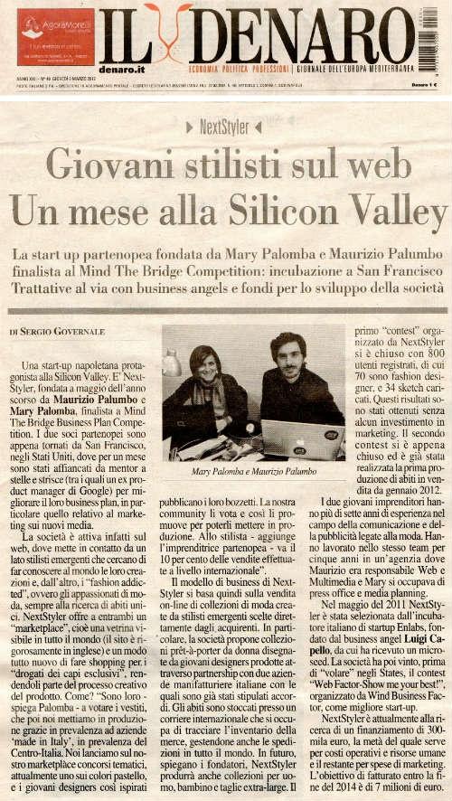 Denaro talks about NextStyler http://blog.maisonacademia.com/denaro-talks-about-nextstyler/