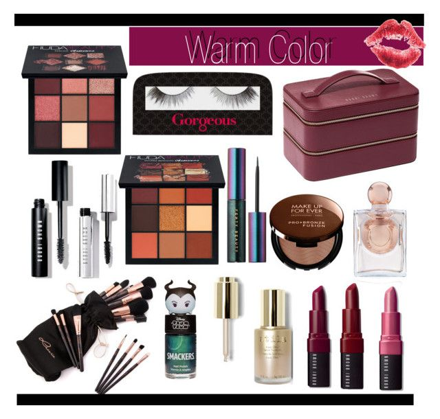 """""""Warm Color"""" by youngsbones on Polyvore featuring moda, Huda Beauty, Gorgeous Cosmetics, Bobbi Brown Cosmetics, Puma, Stila, La Perla y MAKE UP FOR EVER"""