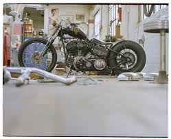 Znalezione obrazy dla zapytania motocykl bobber przedni amortyzator na sprężynach