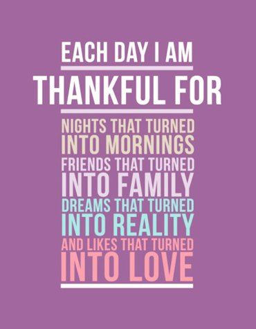 an analysis of the things to be thankful for in thanksgiving day What if i told you that just one thing can help you in all of those areas  a five- minute a day gratitude journal can increase your long-term.