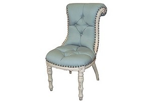 chair- love the tufting pattern