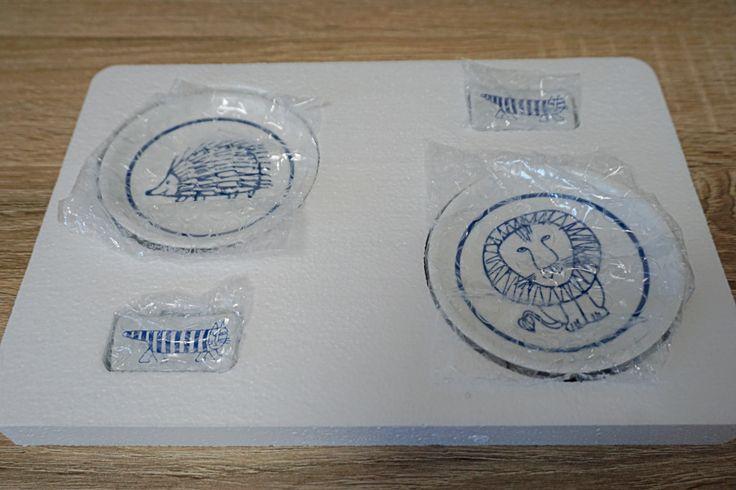 mamezarareview1.jpg (1024×683)  リサ・ラーソン  箸置きと豆皿 雑誌 グルーの付録