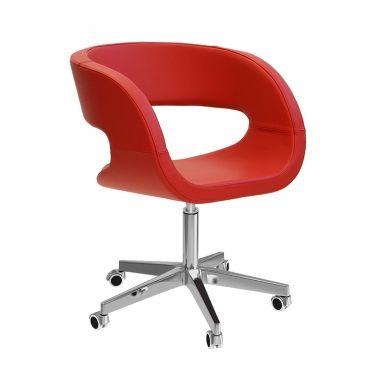 € 299,00 EGO-9 #sconto 50% #poltroncina di #design per #home-office. Base girevole a 360°, seduta imbottita e rivestita, ottimo #comfort, 100% #madeinitaly. Acuistala in #offerta #prezzo su www.chairsoutlet.com