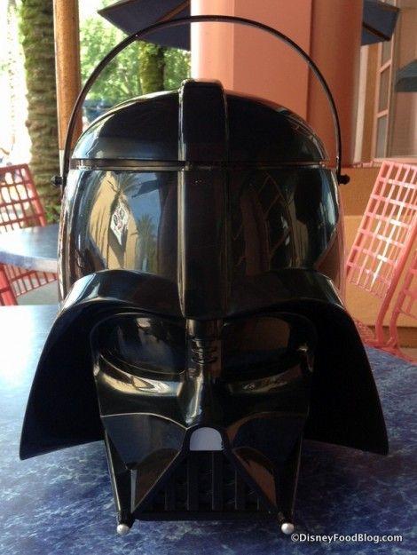 Darth Vader Popcorn Bucket for #StarWars Weekends!! #WDW
