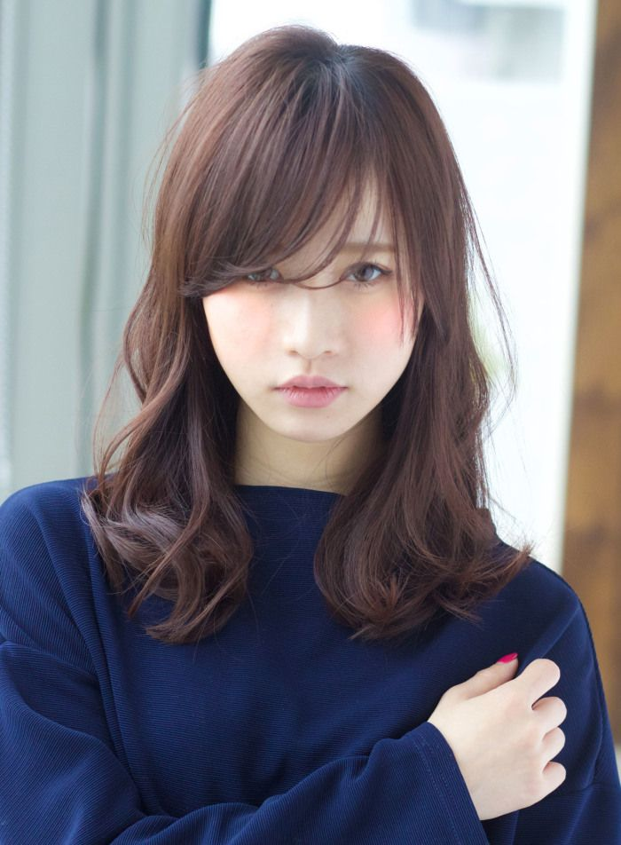 『うざバング』が可愛いモテスタイル|髪型・ヘアスタイル・ヘアカタログ|ビューティーナビ
