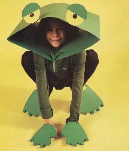 Vestiti di carnevale fai da te: crea un costume da ranocchia