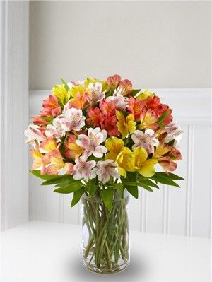 Alstroemeria | Fresh Bouquets | Let Me Count The Ways | Alstroemeria Bouquet