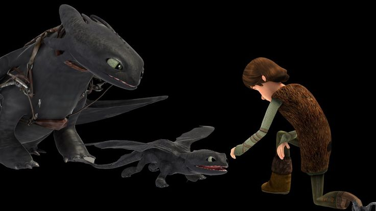 Baby Night Fury By Jam722 Too Adorable How To Train Your Dragon Toothless Hiccup
