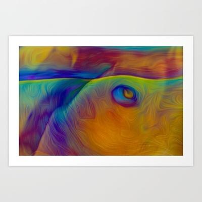 Landscape Art Print by Stephen Linhart - $14.00