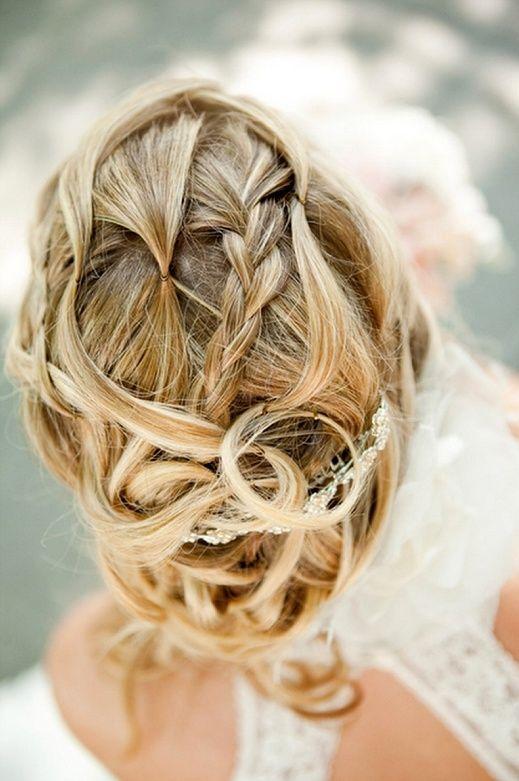 Easy Breezy Bridal Updos Wedding Hair Inspiration 4
