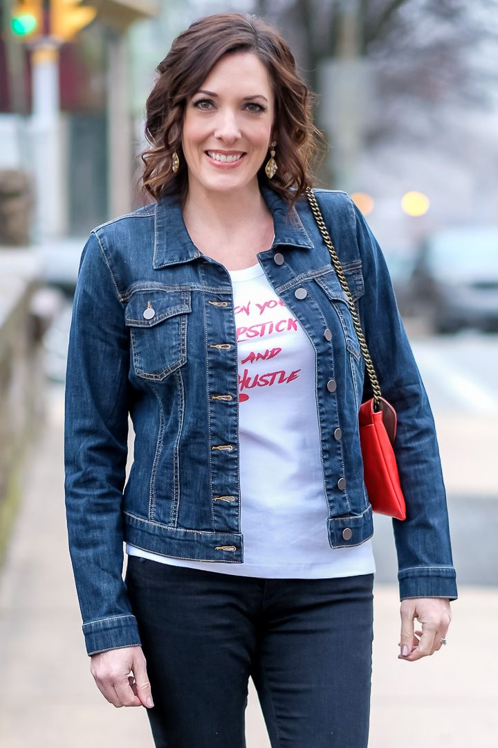 How To Wear A Denim Jacket My Style Outfit Ideas And Fashion For