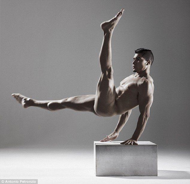 Perfect pose: Gymnast Louis Smith