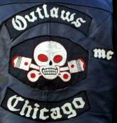 outlaw biker patches | OUTLAWS M.C