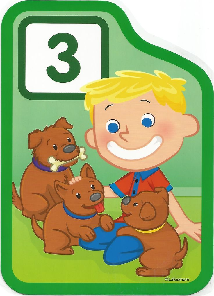 Numero 3 lámina, imagen, imprimir, preescolar, matematicas matemáticas número LAKESHORE