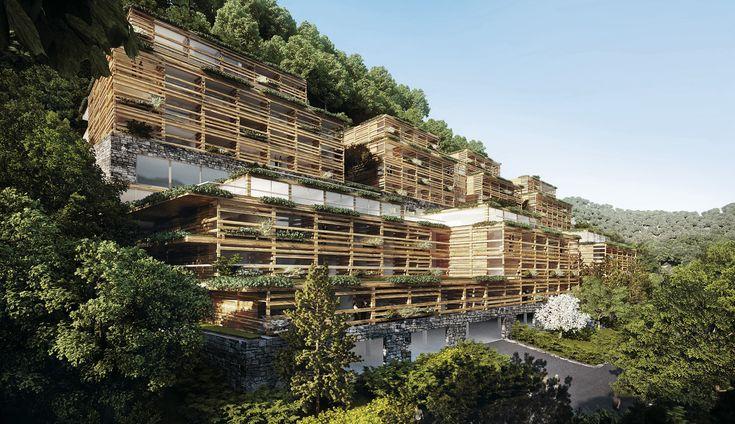 Matteo Thun & Partners : Architecture : Bürgenstock Healthy Living