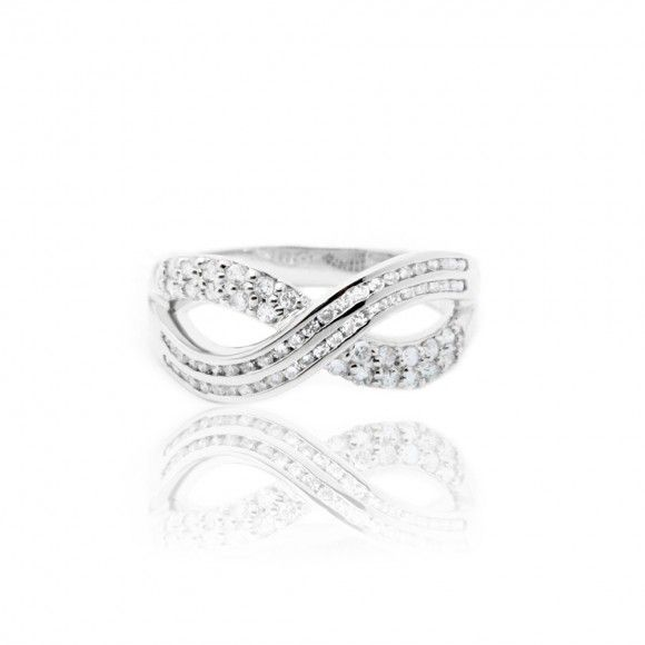 Infinity Ring, 18k White Gold, Diamond  Getting this for our wedding as a special occasion as our 10 year anniversary is going to be on our wedding day.