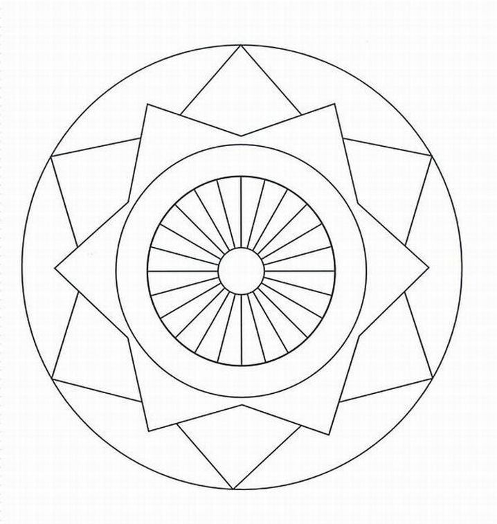 Both broadly define mandalas as geometric designs intended to symbolize the universe, and reference is made to their use in Buddhist and Hindu practices. Description from freekidscoloringpages.net. I searched for this on bing.com/images