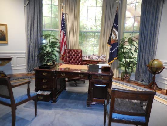 Bush Oval Office Arquitectura