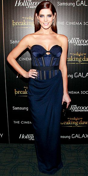 With the release of the final Twilight movie this past Friday, all the stars have been stepping it up on the red carpet. Ashley Greene was definitely no exception as she attended the NYC premiere of the film in a custom-made Donna Karan.  What do you guys think of this look?   ClassyChickClothingOnline.com