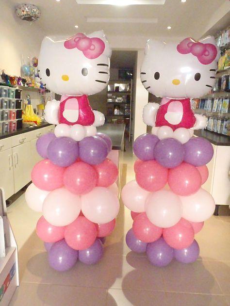 Hello Kitty Theme Columns by @Fantasyparty