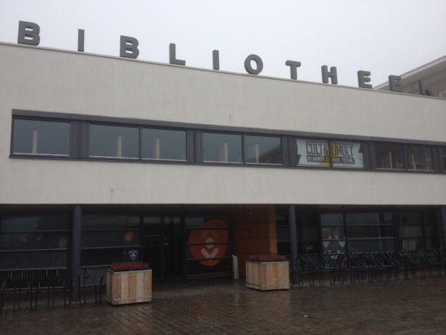 Plantenbakken Bibliotheek Veldhoven