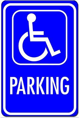 Reserved Handicap Parking Metal Notice Sign Pixy Ink http://www.amazon.com/dp/B00D8SL6RM/ref=cm_sw_r_pi_dp_j6rdwb00044KJ