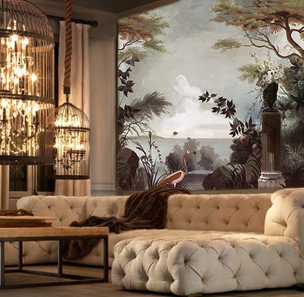 Ananbô: Les papiers peints panoramiques Ananbô transforment nos intérieurs