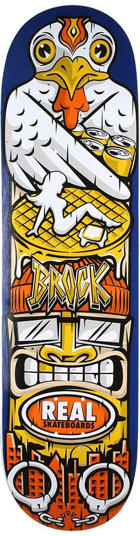 Street Skate Kings: Real Skateboards Spirit Animal Brock Skateboard Deck – Out Now!