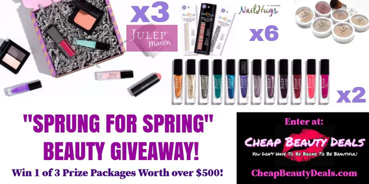Win over $500 of beauty supplies from @CheapBeautyDeals!