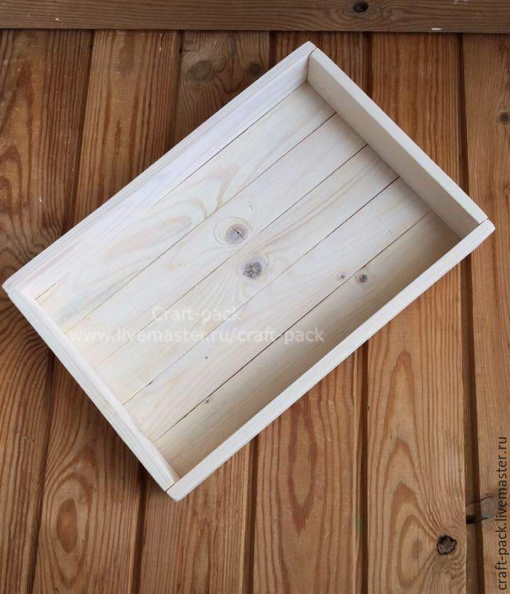 Купить Деревянный ящик # 4 - ящик, ящик из дерева, упаковка для мыла, деревянная упаковка