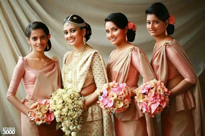 Pin By My Sri Lankan Wedding On Bridal Party Pinterest