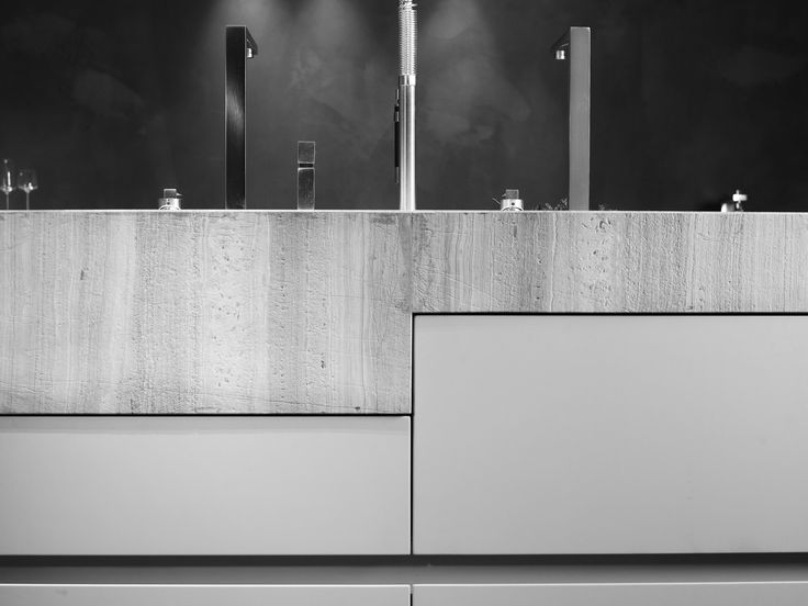 Concrete countertop. Culimaat - High End Kitchens | Interiors | ITALIAANSE KEUKENS EN MAATKEUKENS - Unum