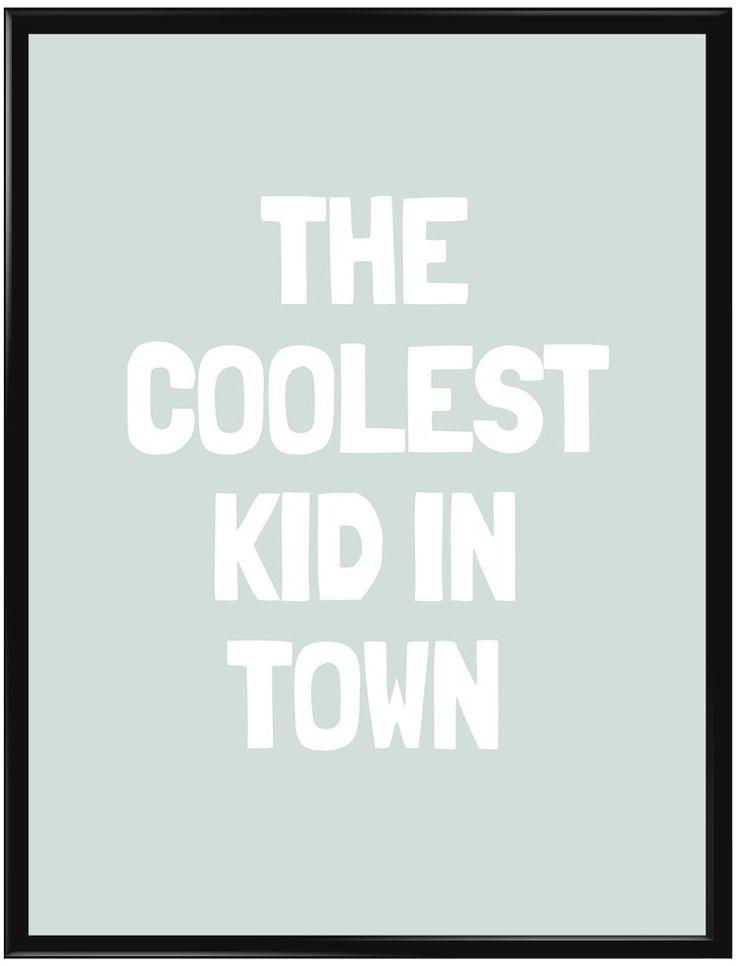 Handla din egen Coolest Kid (Grön) poster från Galerie här. Vi levererar alltid…