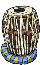 TABLA The tabla (or tabl, tabla) (Hindi: तबला, Bengali: তবলা, Urdu: طبلہ, Arabic: طبل، طبلة, Persian: طبل) is a membranophone percussion instrument (similar to bongos), which is often used in Hindustani classical music. It's used in the Indian folk music and is a part of Hindustani music art. The instrument consists of a pair of hand drums of contrasting sizes and timbres. It appears similar to their Afro-Cuban/Latin-American drum-based relatives bongos. However playing Tabla is very…