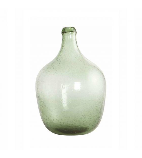 Housedoctor Fles/vaas 'Rec' licht groen mondgeblazen glas Ø19.5x28.5cm…