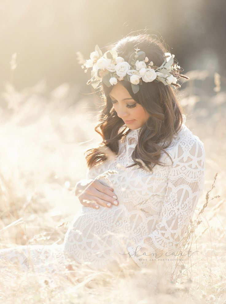 Sacramento maternity photographer, best sacramento maternity photographer, el dorado hills, beautiful maternity session, mother daughter maternity session, lace dress, shan cait, golden light, floral crown