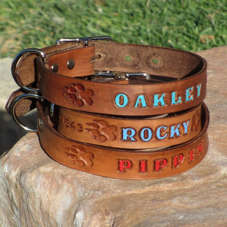 Dog Collars Personalized