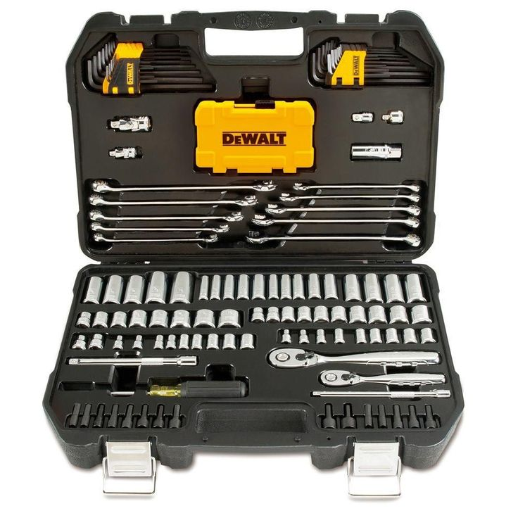DEWALT Mechanics Tool Set (142-Piece)