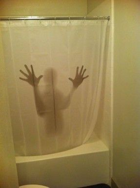 GREAT shower curtain!  No idea where to buy one, saw it on Facebook with no source link.