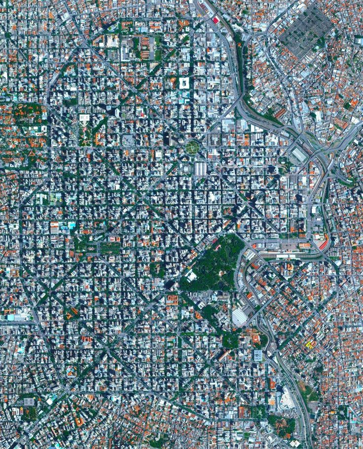 Belo Horizonte is the sixth largest city in Brazil with a population of roughly five million people. The city was constructed at the end of the 19th century with a planned, symmetrical array of perpendicular and diagonal streets in its downtown area. The roads are named after the Brazilian states and the indigenous tribes of Brazil.  19°55′S 43°56′W  Instagram: http://bit.ly/2wYdDEY  Source imagery: DigitalGlobe
