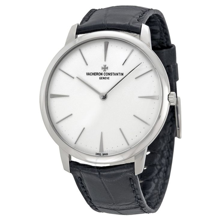 Vacheron Constantin Patrimony Grand Taille White Gold Black Alligator Men's Watch 81180000G-9117 - Patrimony - Vacheron Constantin - Watches - Jomashop