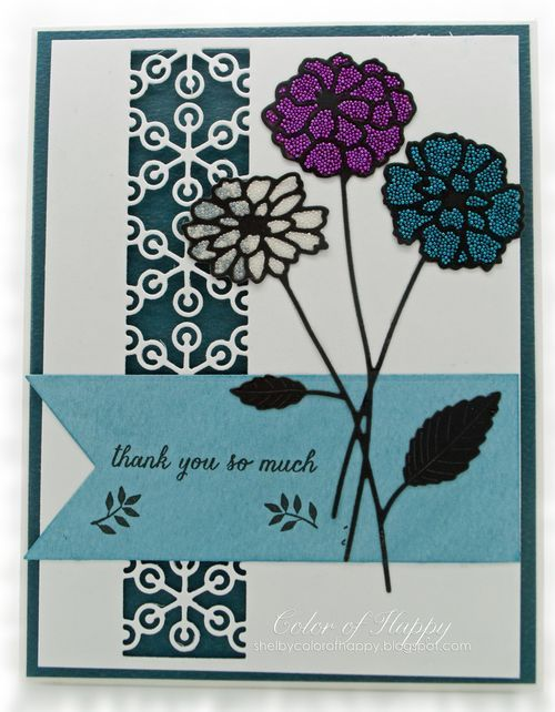 Memory Box dies- Ringo Tile 98777, Zinnia Bouquet 98783, Zinnia Bouquet Background 98784