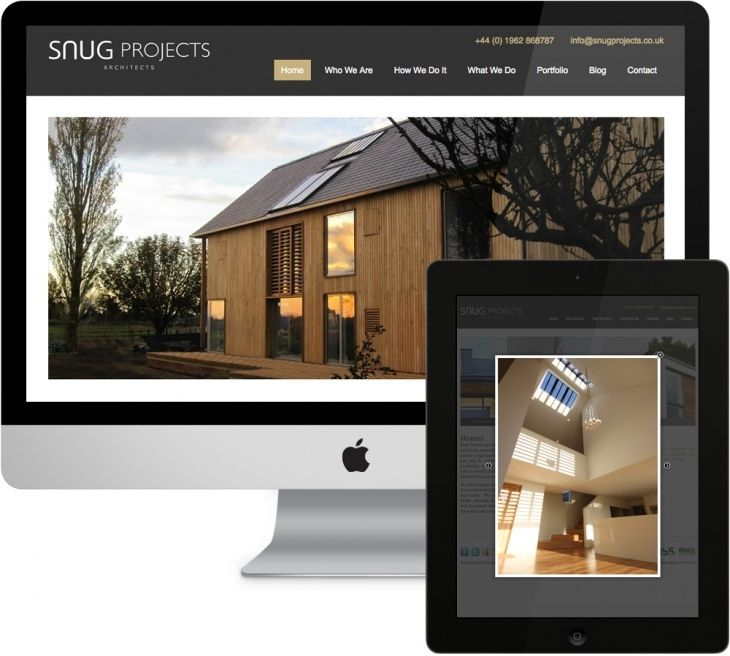 Snug Projects wanted their website to inspire confidence, showcase their work and generate leads.