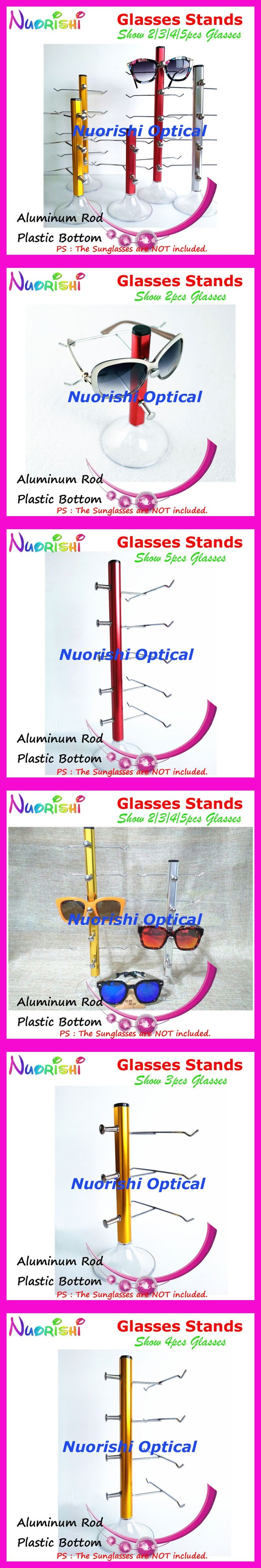 Color Aluminum Alloy Glasses Sunglasses Store On Counter Display Shelf Rack Stands Show 2/3/4/5pcs eyeglass CK420 Free Shipping