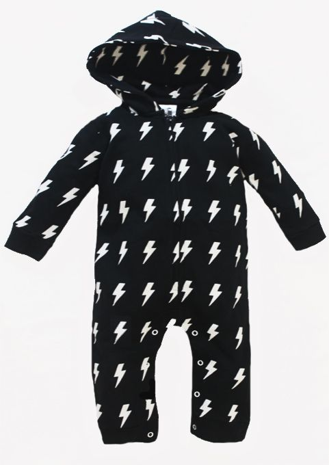 This trendy baby romper will kick up a storm amongst the other parents at playgroup, you're sure to have the coolest baby there! FREE gift wrap