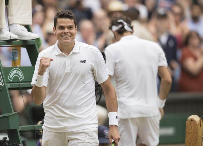 Roger Federer vs. Milos Raonic 2017 Wimbledon Quarterfinal Pick, Odds, Prediction